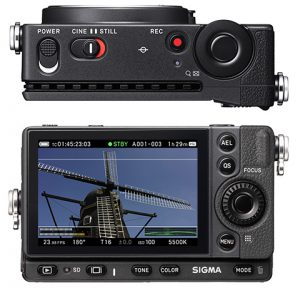 Sigma fp Top and Rear