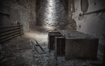 Eastern State penitentiary cell
