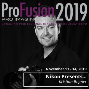 Kristian Bogner - ProFusion Expo 2019 PresenterNikon