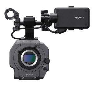 Sony FX9 Front View of Sensor