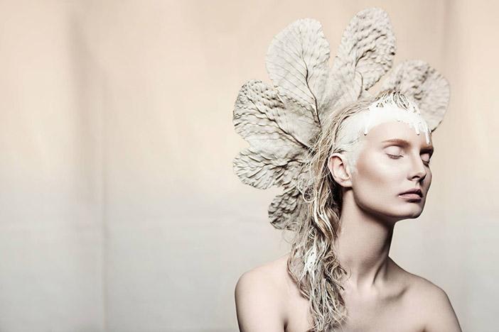 Woman in White - Lindsay Adler