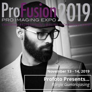 Profoto Booth Presenters - Ranjiv Gunarajasing