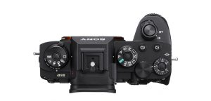 Sony a9 II top view