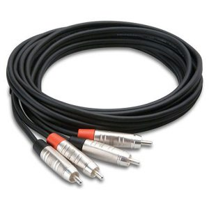HOSA HRR-003X2 Pro Dual Cable RCA
