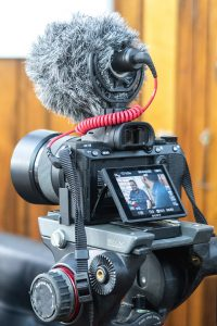 Live Streaming 101 - black-dslr-camera-on-black-tripod-stand