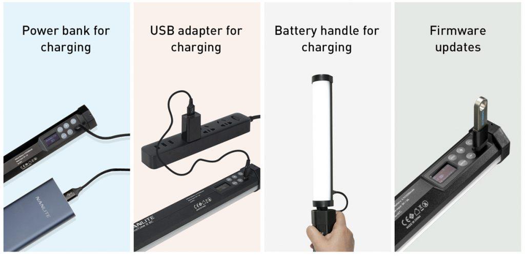 PavoTube II 6C USB Port