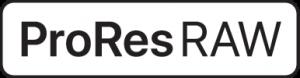 Apple ProRes RAW logo