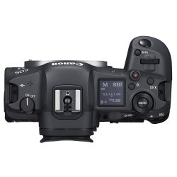 EOS R5 Top View