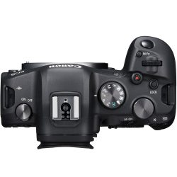 EOS R6 Top View