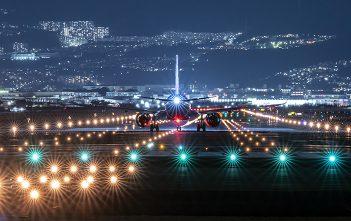 Lumix 70-300mm Sample Image at airport by Akira Igarashi