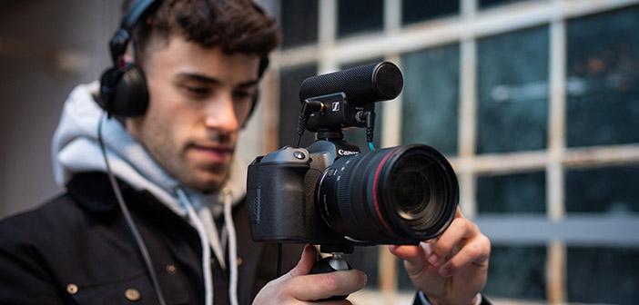 Sennheiser MKE 400 On Camera