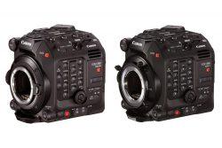 Canon Cinema EOS C500 mk II and C300 mk III