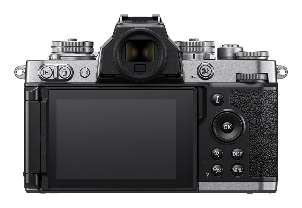 Nikon Z fc Back showing LCD