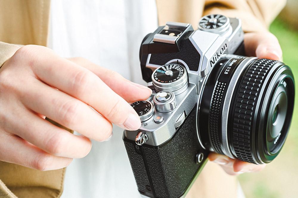 Nikon Z fc lifestyle image