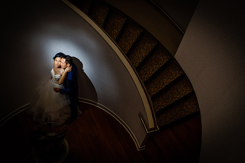 Raph Nogal - Couple on Stairs