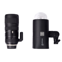 Elinchrom One Light Size Comparison with Lens