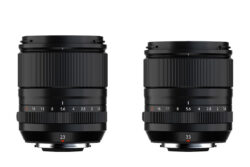 XF-23mm and XF-33mm Lenses