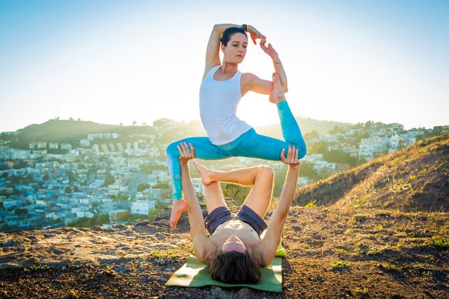 Acro Yoga © Tony Felgueiras