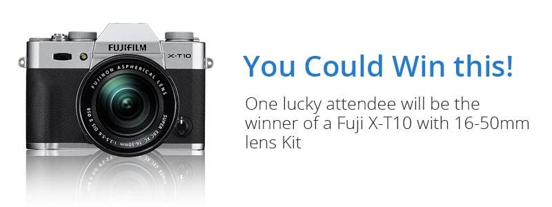 Fuji X-T10 Prize