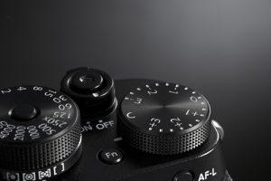 FujiFilm X-T2 dials