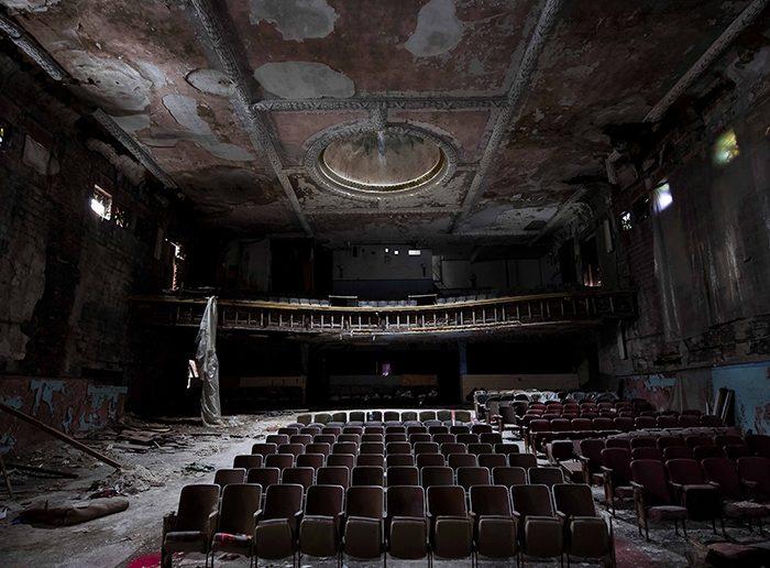 Abandoned Theatre Photo Pamela Julian