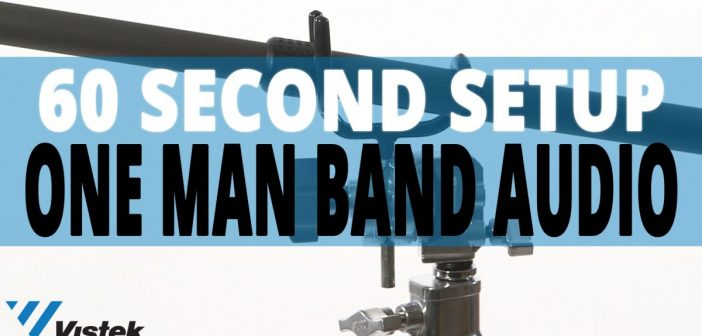 One Man Band Audio Set-up