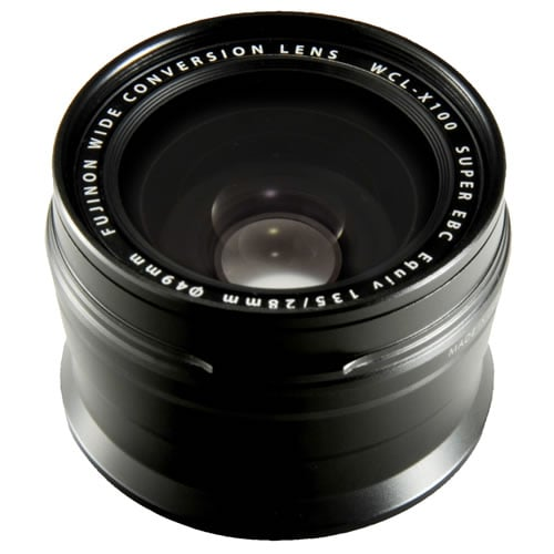 fujifilm X100 Series Black Wide Conversion Lens