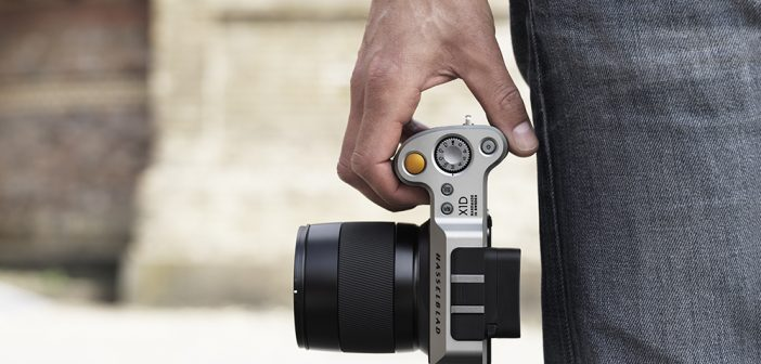Hasselblad X1D In Hand